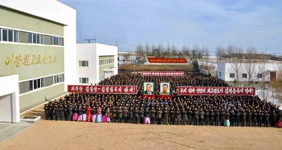 Impresionantes logros sociales y de Obras publicas de Corea del Norte en el 2014 2014-12-20-03-01