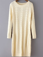 romwe sweater dress