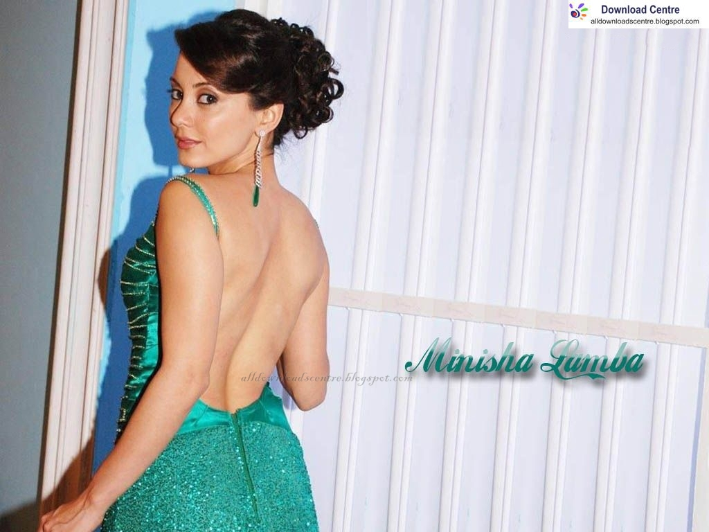 download centre: minissha lamba backless wallpaper