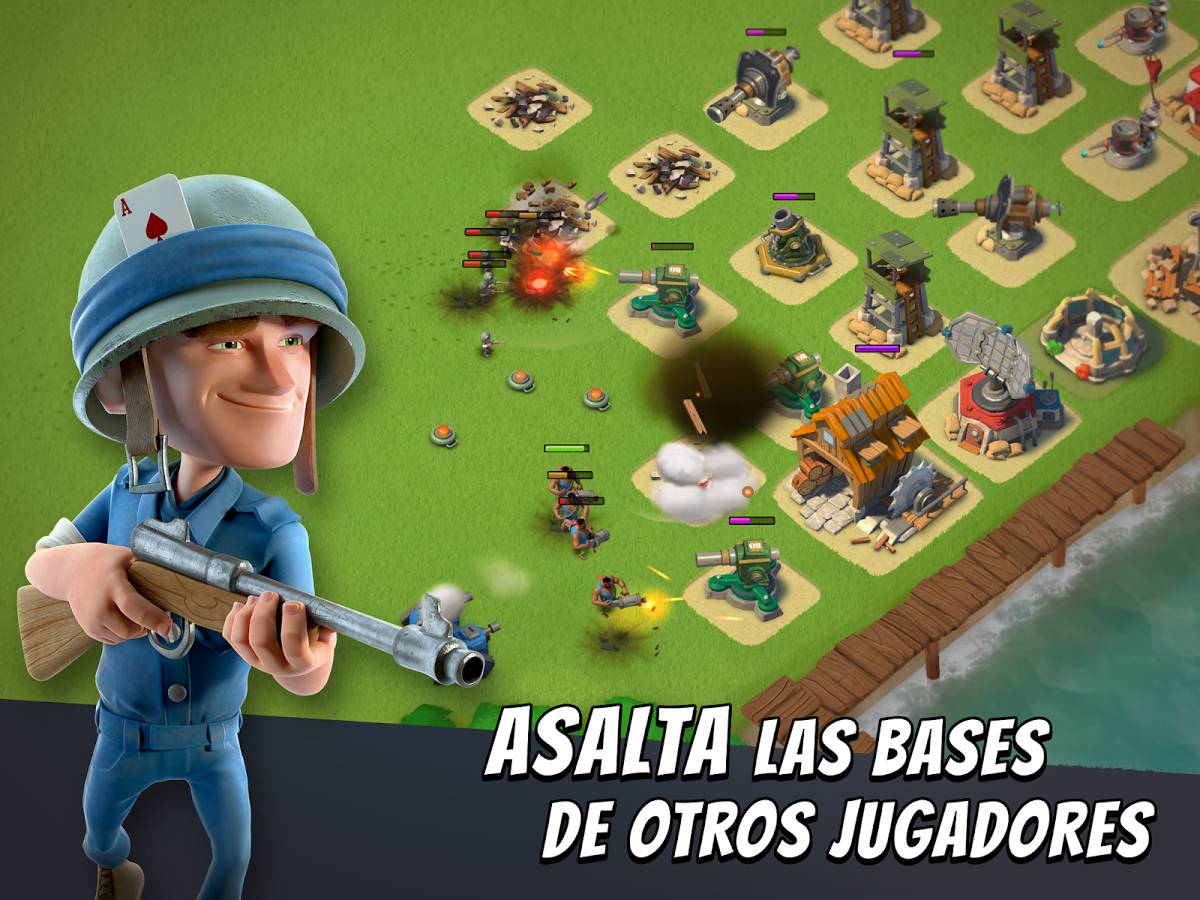 Descarga gratis Boom Beach