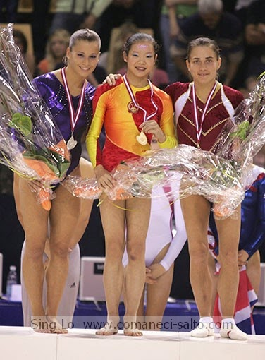 Gym Skills Guide All Of Chinas Cheng Feis Vault During Her Gymnastics Career