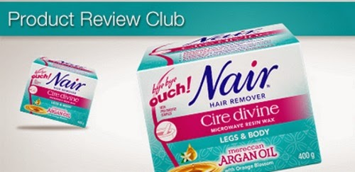 Chickadvisor Nair Cire Divine Hair Remover Product Review Club