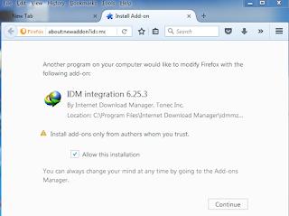 Install Mozilla Firefox Add-on.