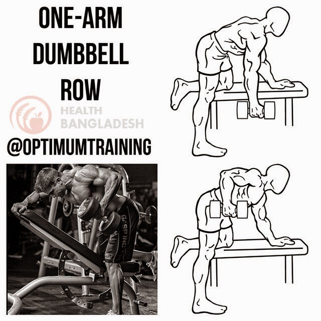 HOW TO DO ONE-ARM DUMBBELL ROW