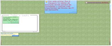 Visita el tablón de anuncios del Rincón de PT y deja tu pos-it