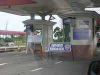 Brunei Border Control Post at Sungai Tujuh
