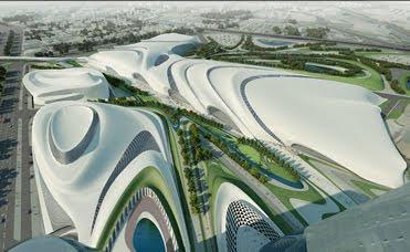 Entornos urbanos entornos humanos the parametric city for Parametric architecture zaha hadid