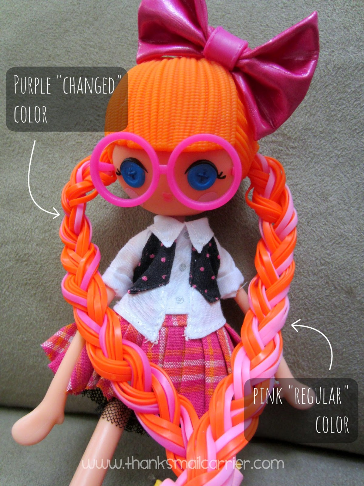 Lalaloopsy girls hair