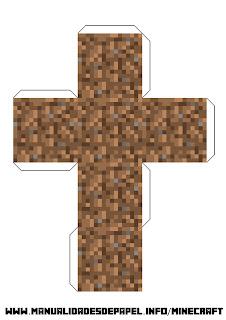 Crear bloque minecraft de tierra
