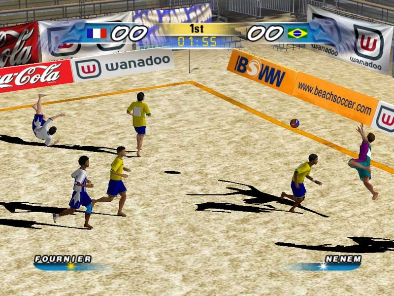 Pro beach soccer ps2 2003