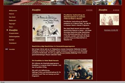 noticias curiosas cena hotel prisionero nazi alemania
