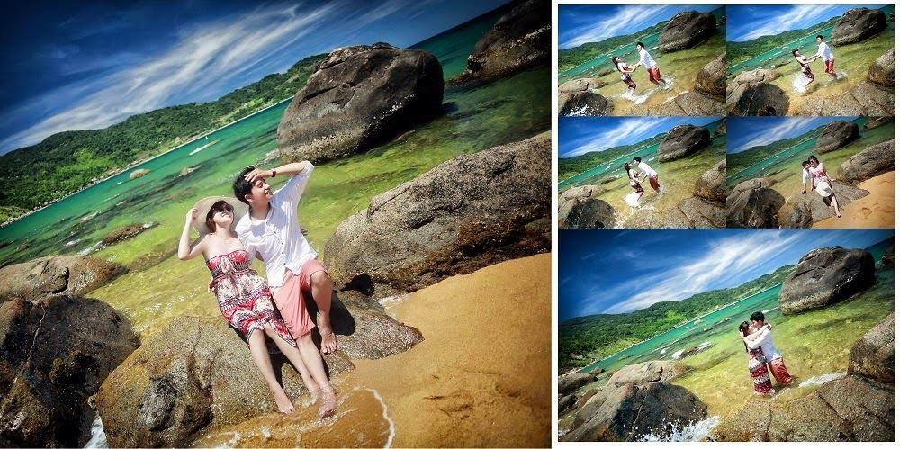 Chụp ảnh cưới tại Bán đảo Sơn trà