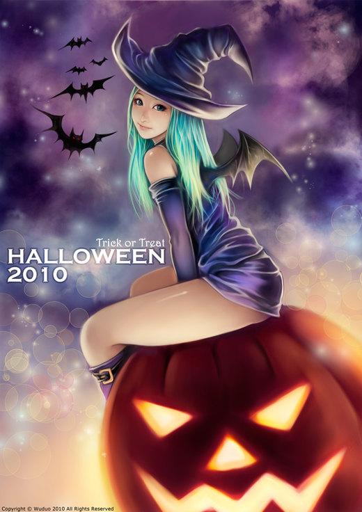Halloween 2010 por WUDUO
