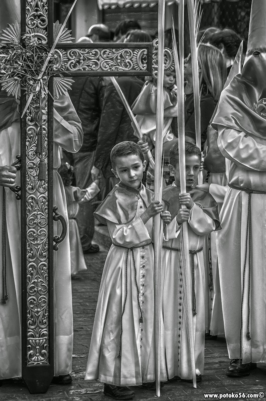 Domingo de Ramos Cruz de Guía Semana Santa Roteña