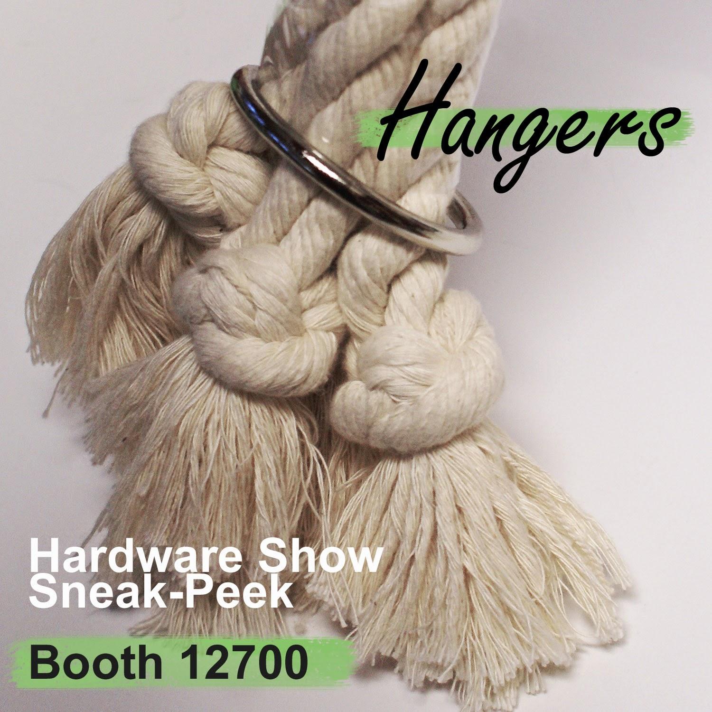 Hardware Show Sneak-Peek - Plant Hangers Visit Booth 12700