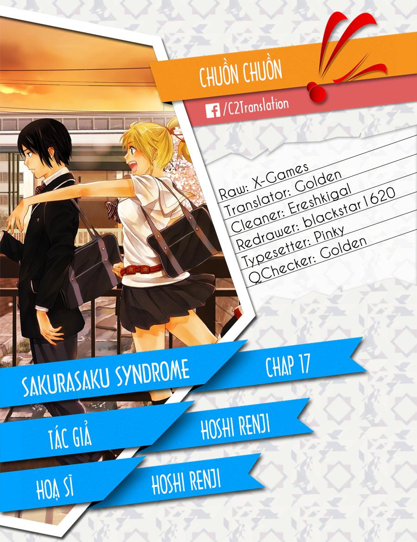 Sakurasaku Syndrome chap 17 Trang 1 - Mangak.info