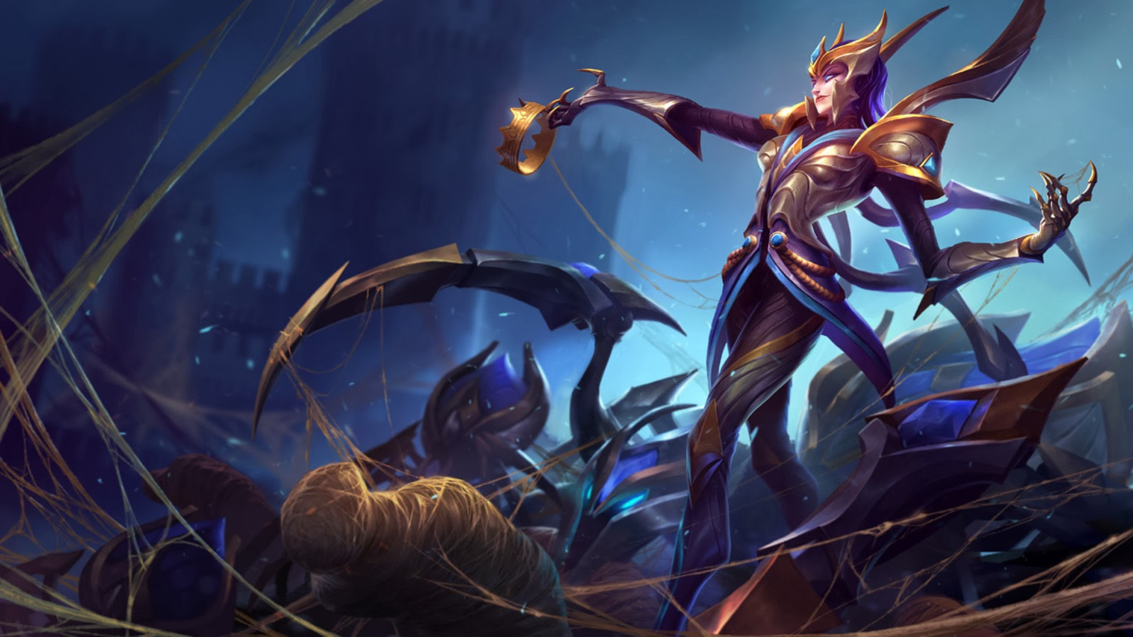 Elise League of Legends Victorious 71 Wallpaper HD