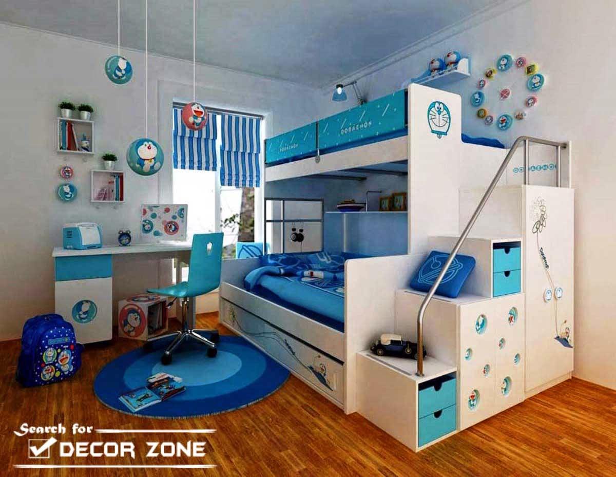 boys room decorating ideas bunk bed for tow kids & 15 Boys room decorating ideas and tips from experts | Dolf Krüger