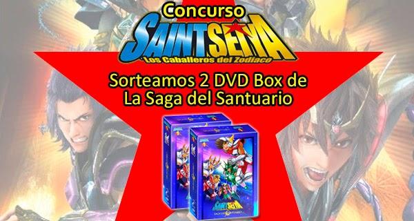 """Sorteamos dos packs de """"Caballeros del Zodiaco: La saga del Santuario"""" en DVD"""