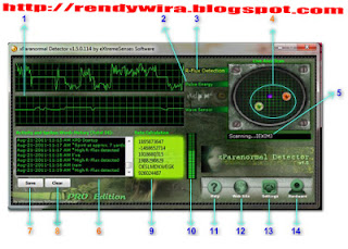xParanormal Detector, download xParanormal Detector, software penditek mahluk halus