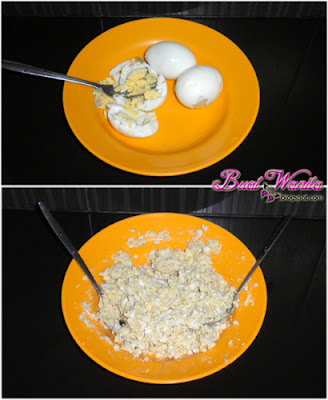 Resepi Sandwich Telur Hancur. Cara Buat Sandwich Telur Simple Senang Sedap