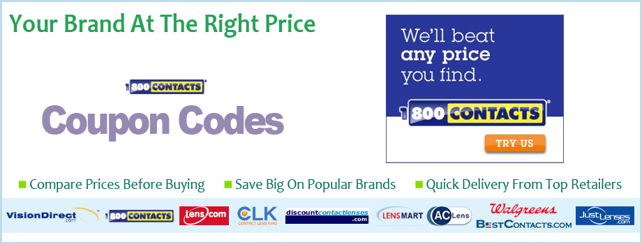 Coupons for discount contact lenses