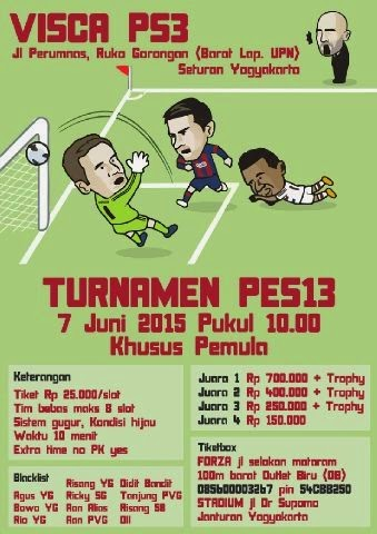 PES 2013 Tournament di Jogja Juni 2015