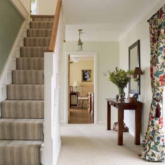 New Home Interior Design Traditional Hallway: New Home Interior Design: Country Hallway