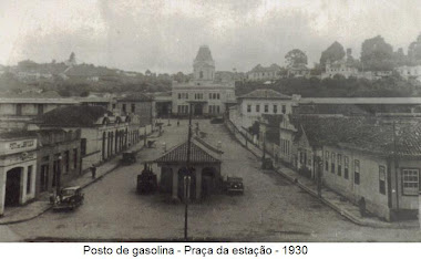 PRAÇA DA ESTAÇAO EM 1930