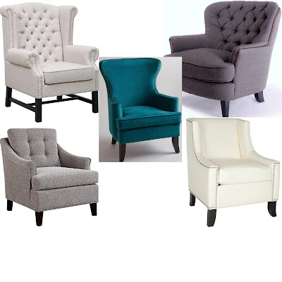 the friday five, friday five, five, friday, sunburst mirror, piano, club chair, accent chair, gray, white, tuft, tufted, tufted char, nail head, nailhead, nail head chair, nailhead chair, white chair, tan chair, turquoise chair, teal chair, peacock, world market, safavieh, amazon