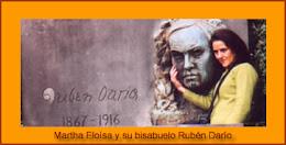 Poema que me dedicó Martha  E. Darío ( bisnieta del célebre escritor RUBÉN DARÍO)
