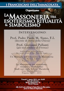 Convegno sulla Massoneria