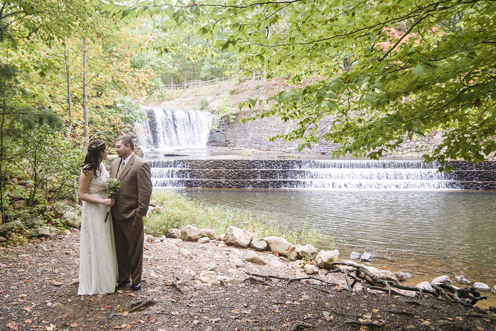 Wedding at Douthat State Park
