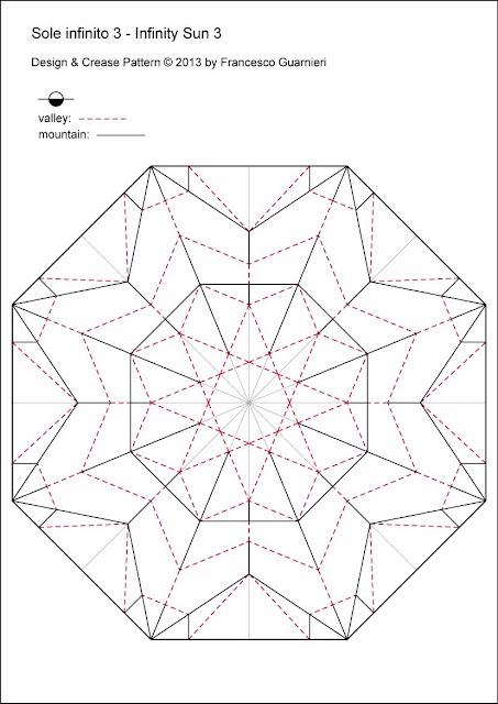 Origami-CP Sole infinito 3 - Infinity Sun 3 by Francesco Guarnieri