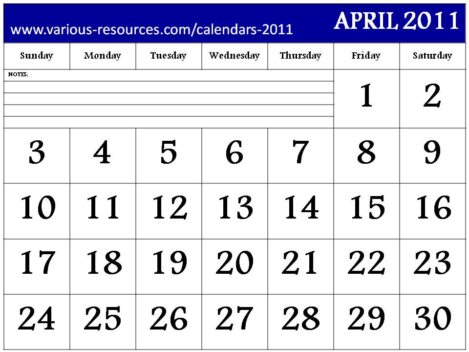 Results Calendar April : April calendar video search engine at