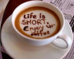 ♥ El café, siempre lleva buen sabor, y también razón