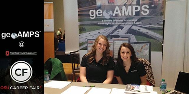 geoAMPS participates in career fair at The Ohio State University