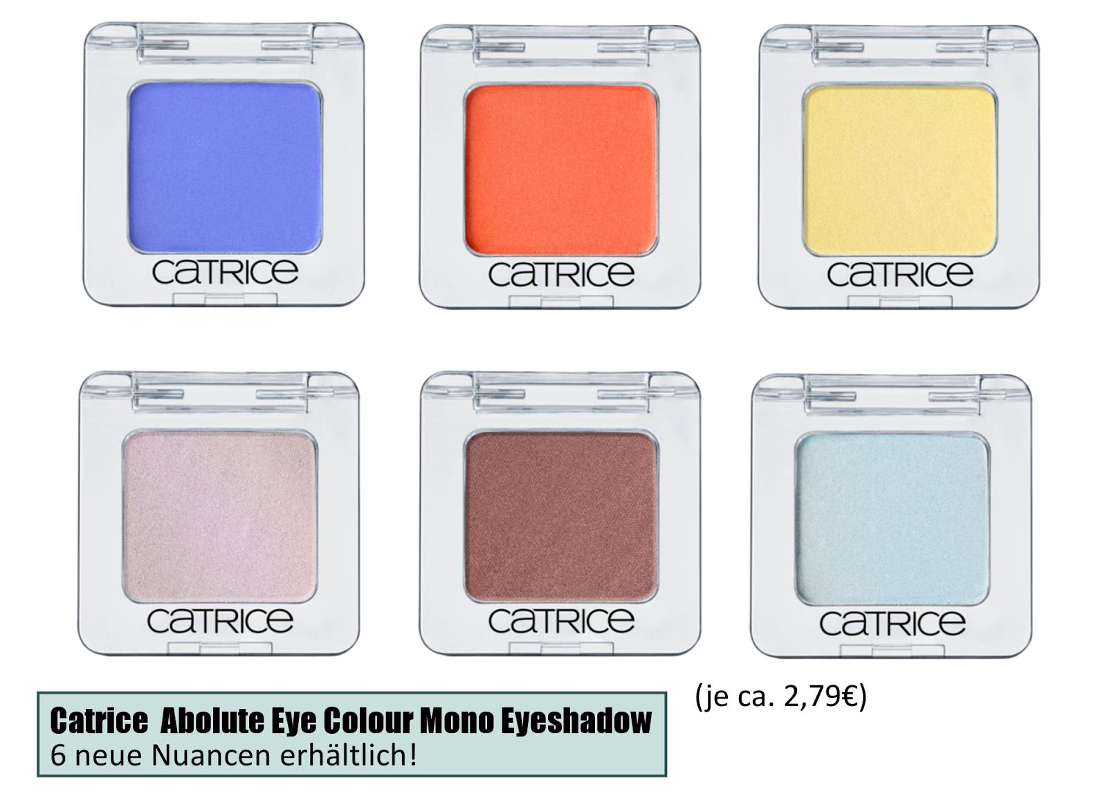 Catrice Sortimentsumstellung Frühling/ Sommer 2014 - Neuheiten Augenprodukte