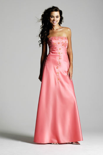 Hairstyles for prom based on dress : Fashion beauty long strapless prom dresses