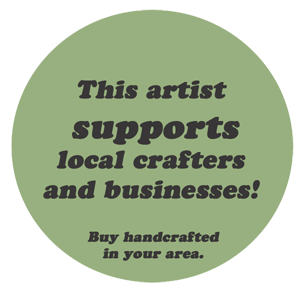 .support local and handmade.