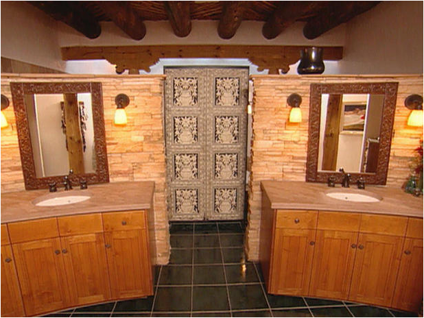 Southwestern Design Ideas artistic details Southwestern Bathroom Design Ideas
