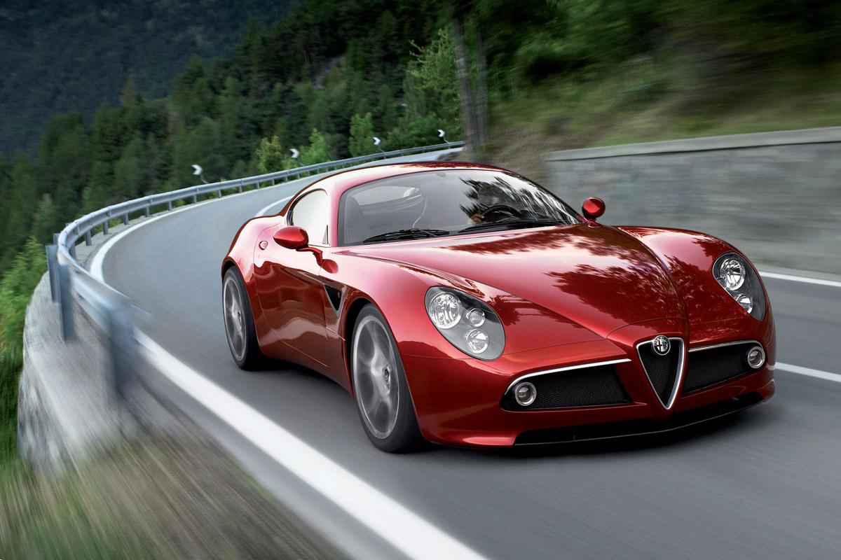 Car Posters: Alfa Romeo 8C Competizione