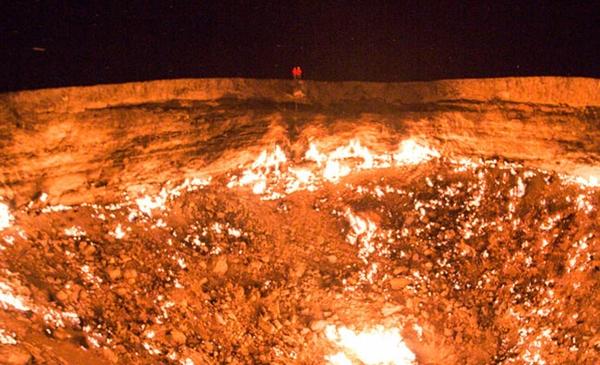 gurun di turkmenistan menyimpan gerbang ke neraka