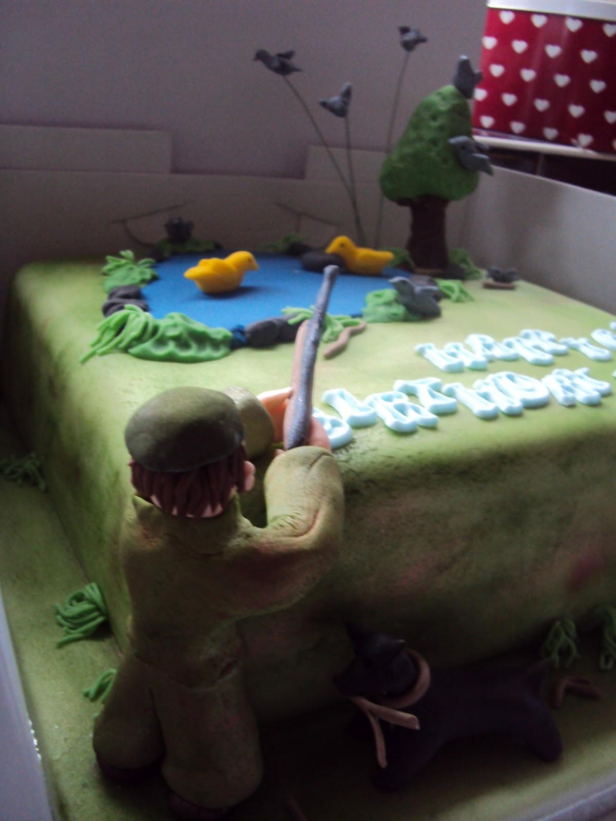 I Dream Of Cake Shooting Birthday Cake