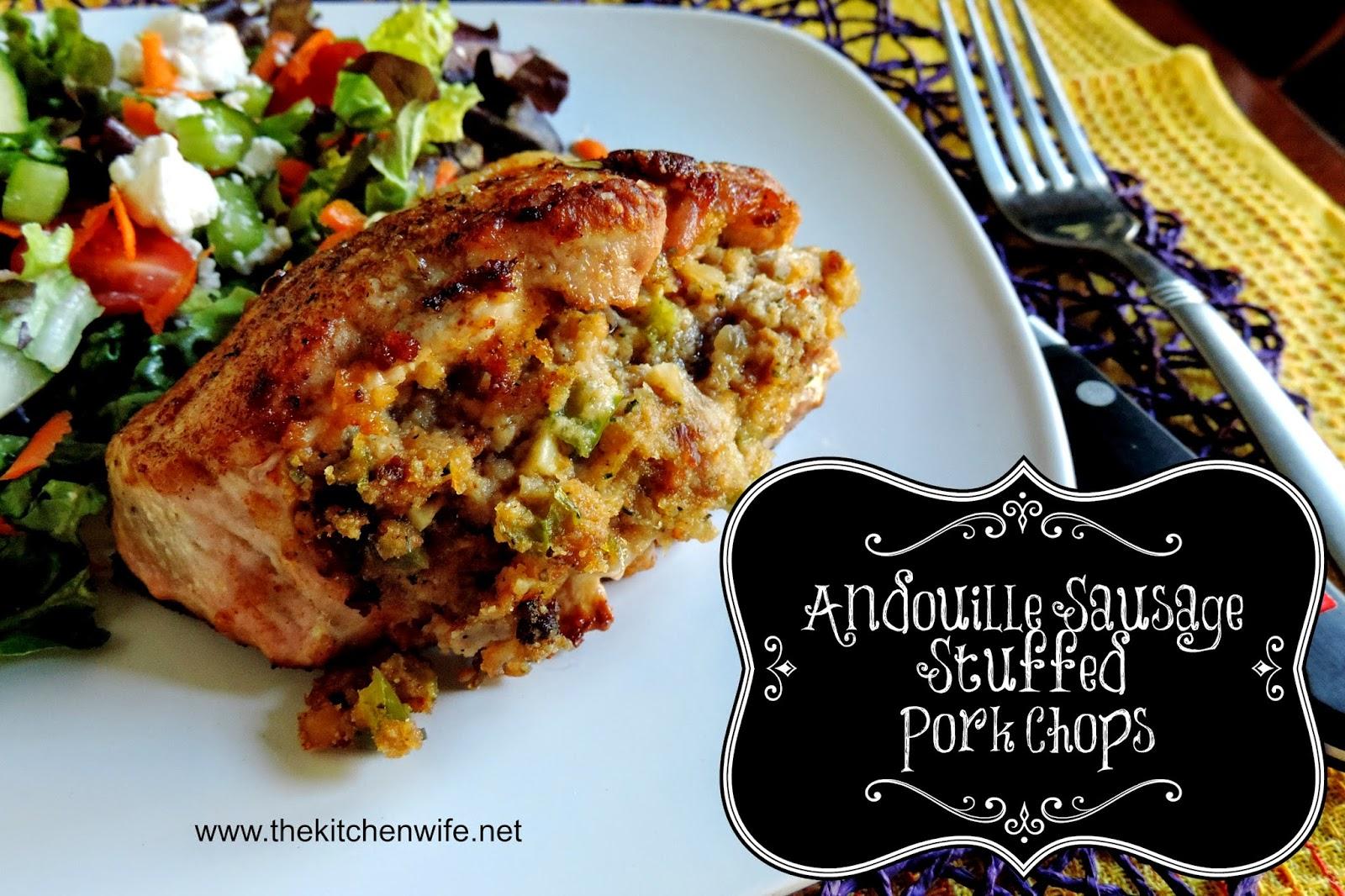 Sausage stuffed pork chop recipes