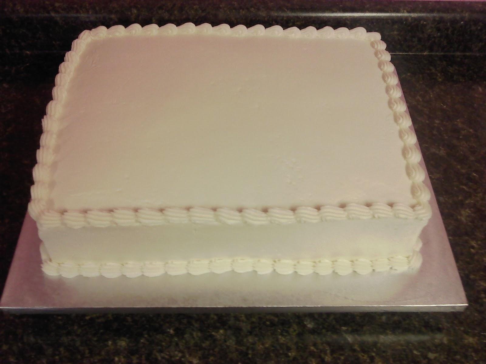 Blank Sheet Cake Www Pixshark Com Images Galleries