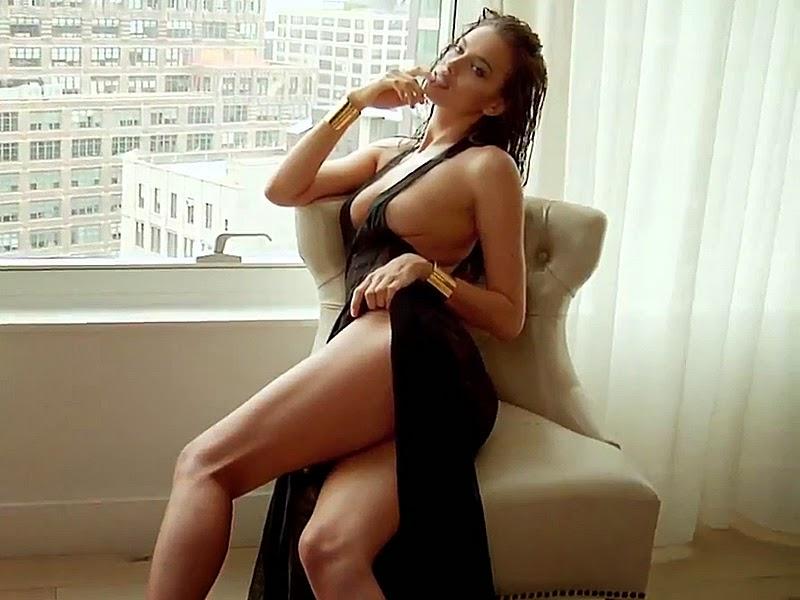 Irina Shayk, la guapísima modelo y ex del mejor jugador de fútbol del mundo, Cristiano Ronaldo. Chicas guapas 1x2.