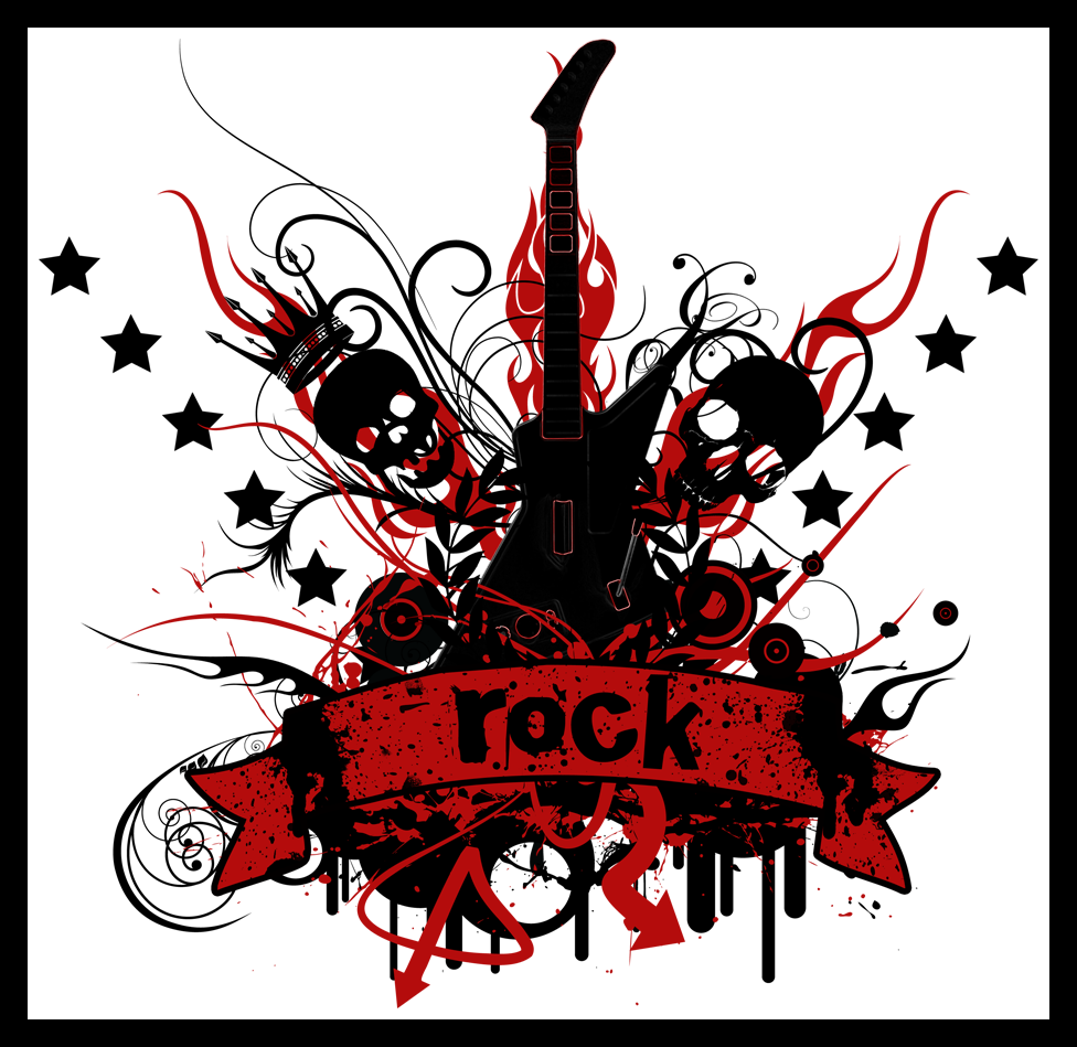 Rock, Guitarras, Rockeras de Todo un Poco