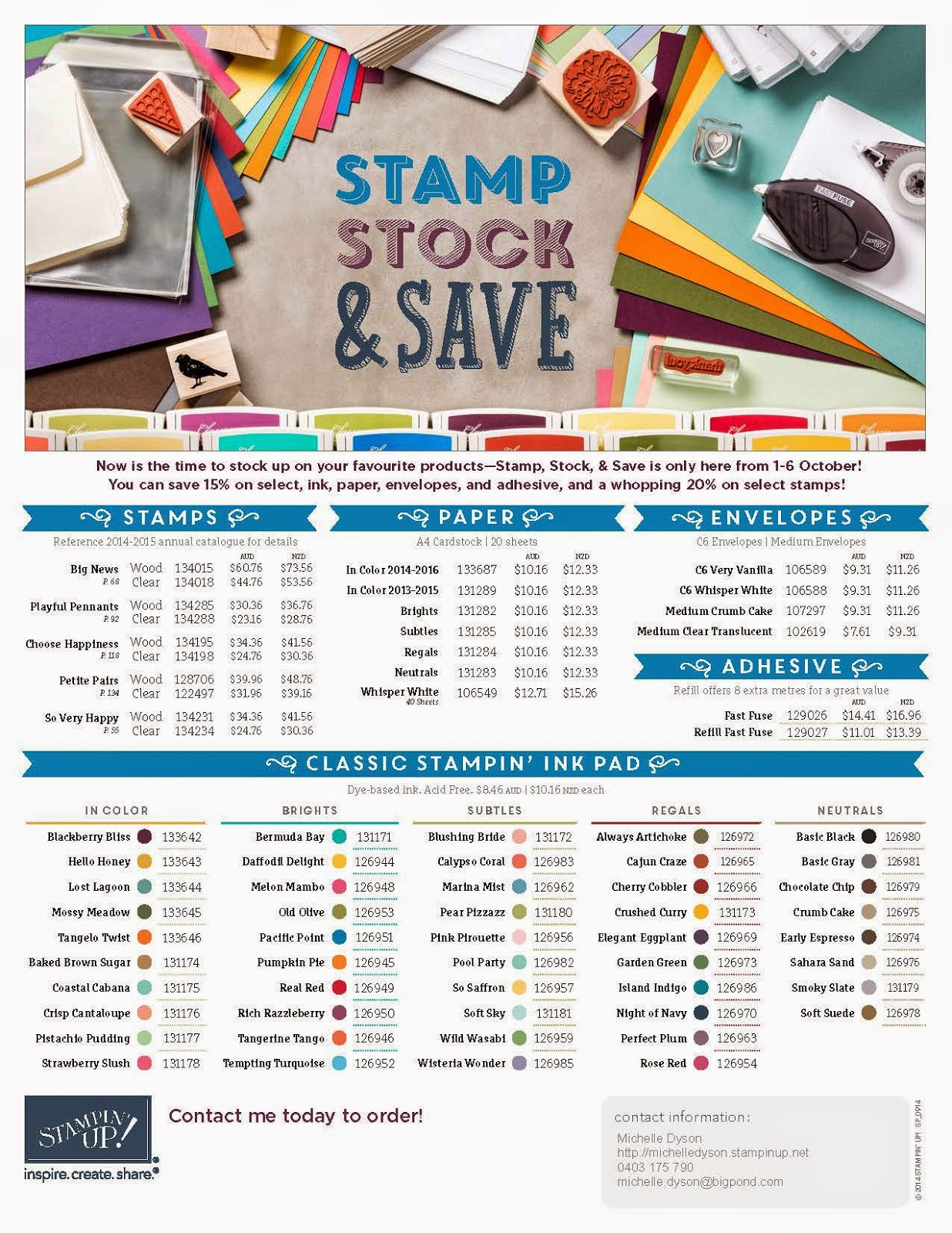 http://www.stampinup.net/esuite/home/michelledyson/promotions