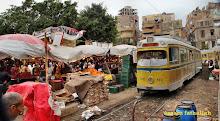 إشغال الطرق: النمو العشوائي لسوق محطة مصر